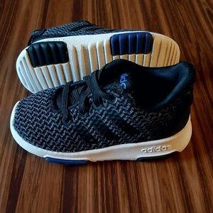 ADIDAS Slip-on Black Toddler Boys Shoes SIZE 6